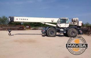 Terex 55 ton RT555 Grua Crane