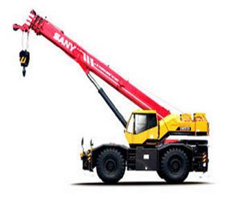 Grua SANY SRC750 75 Ton Crane
