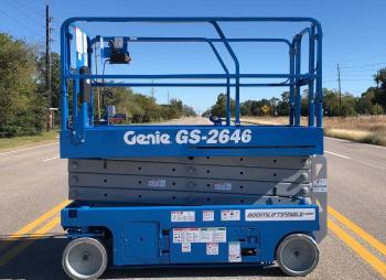 GENIE 2646 Plataforma de tijera electrico 10m