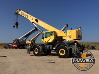 GROVE 50 Ton RT600E Grua Crane