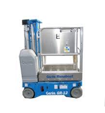 Genie GR-12 Elevadores de mástil vertical conducibles
