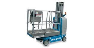 Genie GR-20 Elevadores de mástil vertical conducibles
