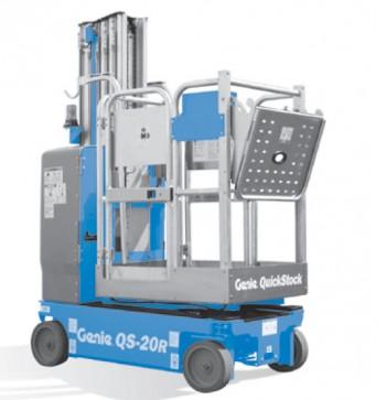 Genie QS-20 Elevadores de mástil vertical conducibles