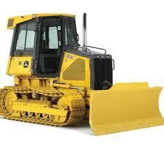 John Deere 650J LGP Tractor Oruga