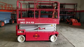 MEC 2647 plataformas de tijera 10M electrico