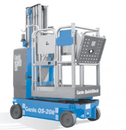 Genie QS-15 Elevadores de mástil vertical conducibles