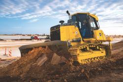 John Deere 550K LGP Tractor Oruga