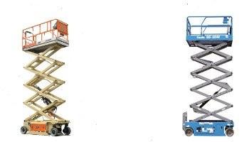 Elevadores eléctricos de tijera