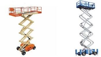 Elevadores de tijera motorizados
